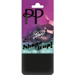 Pretty Polly Shape It Up 80D Tum Opaque Shaper Tights