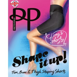 Pretty Polly Shape It Up Longe Line Shaper Short