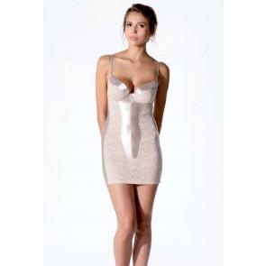 Lejaby Longilis kurzes Kleid creme rose